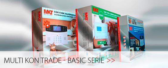 Alarmanlagen Multikontrade Basic Serie